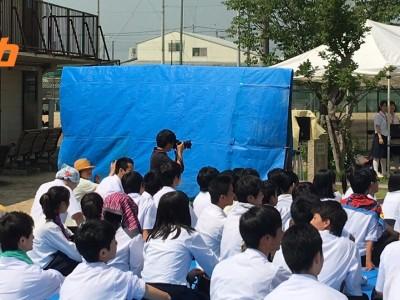 文化祭の取材活動報告