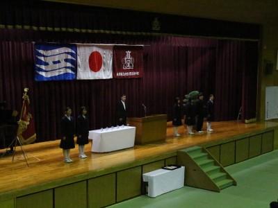平成28年度 校花賞授与式