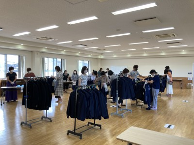 制服リサイクル販売~冬物~の報告
